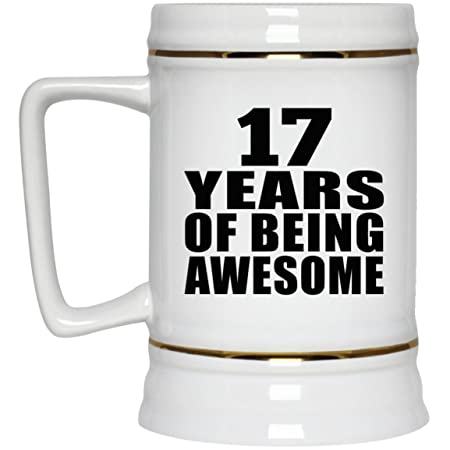 Birthday Gift Idea 17 Years Of Being Awesome