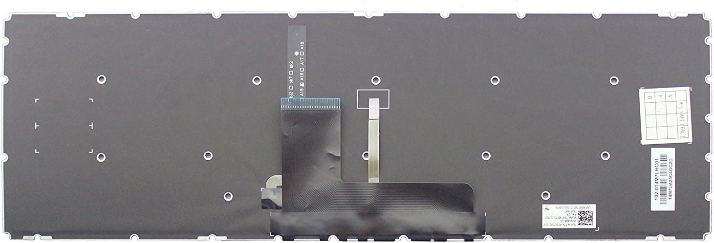 New US Black Backlit Keyboard for Toshiba Satellite L55-C5340 L55-C5392