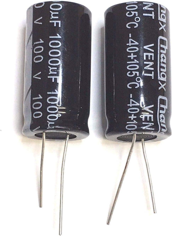 1uF 100V Electrolytic Capacitor 105C