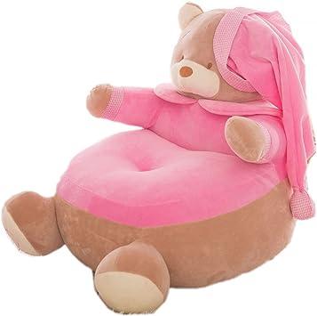 Amazon.com: Super Cute peluche Puf silla asiento infantil ...