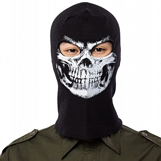 call of duty ghost mask hat skull face halloween costume cosplay mask breathable outdoor sports motorcycle