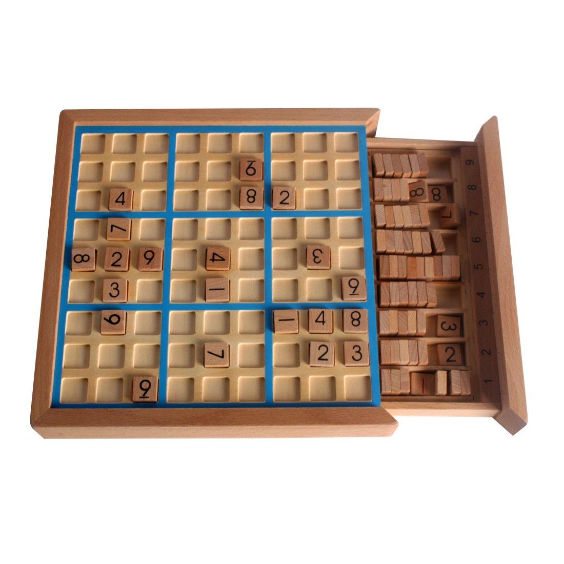 Larcele Bois Sudoku Jeux de société SD-02