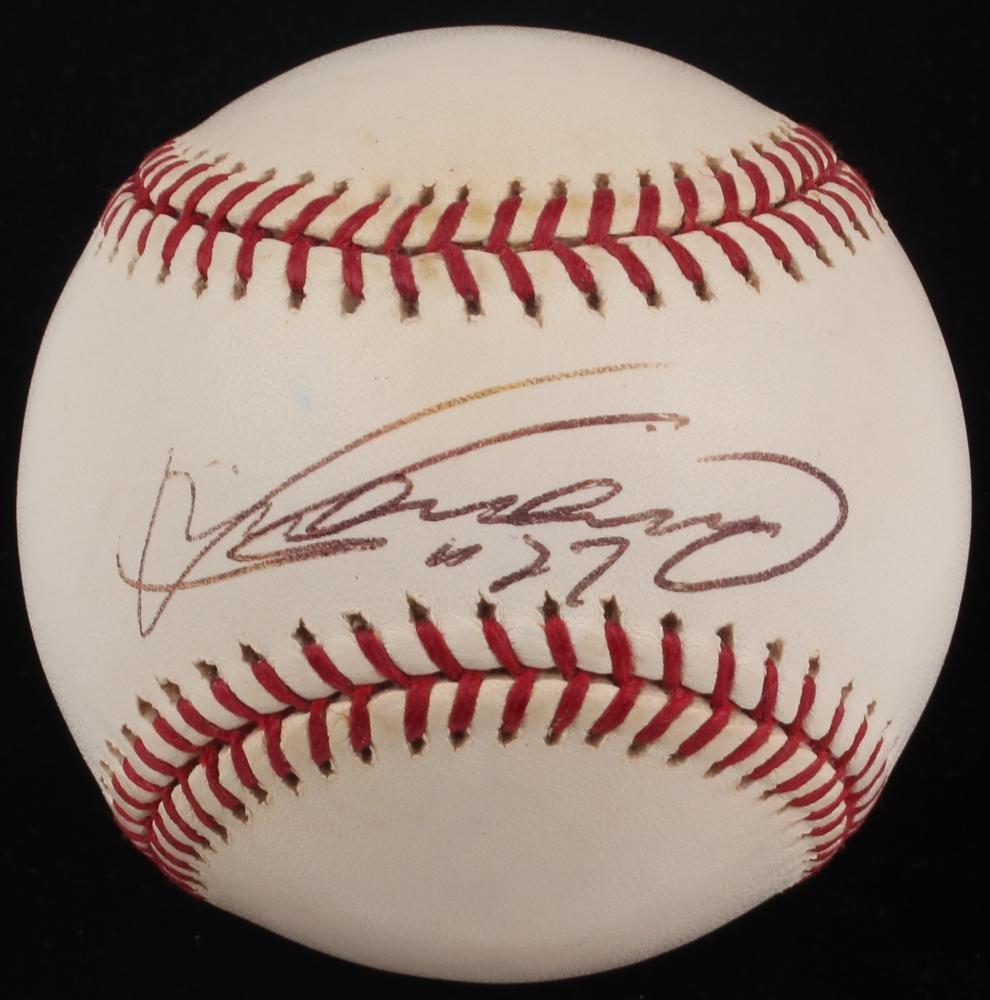 Vladimir Guerrero - Balón de béisbol Firmado por OML (JSA COA ...