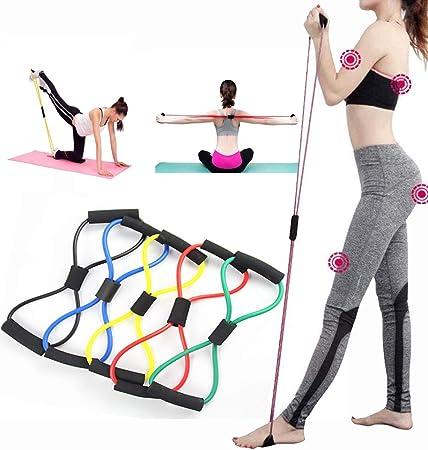 Cuerda De Traccion Bandas De Resistencia,Elastica Ejercicio De Fitness Yoga Gym