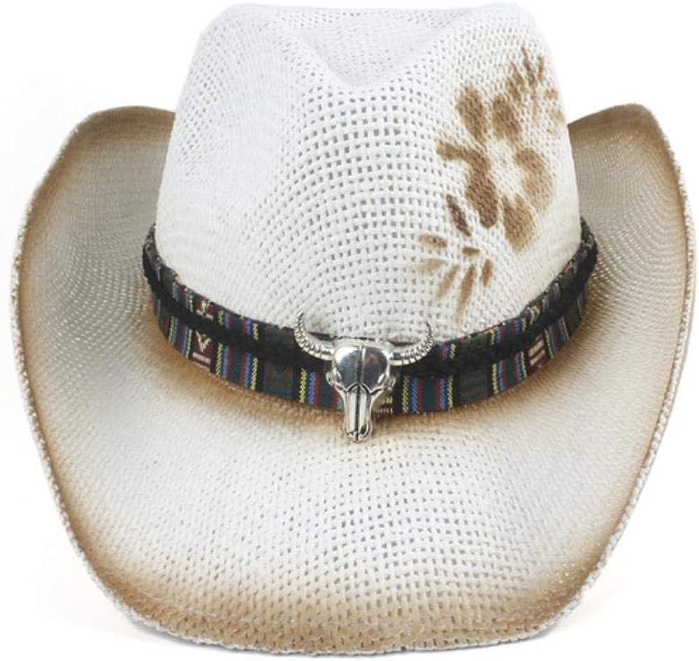 Western Cowboy Hat Straw...
