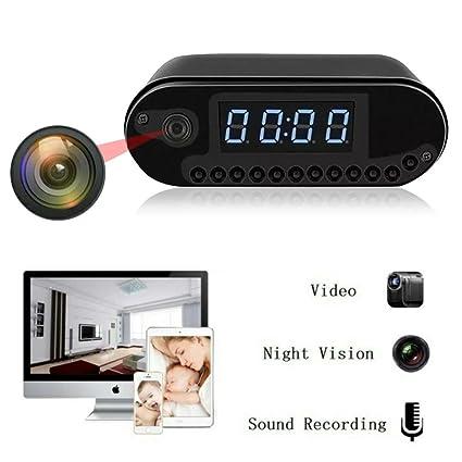 Cámara espía HD 1080P P2P cámara reloj Red Wifi Motion Detective Grabadore de vídeo en la