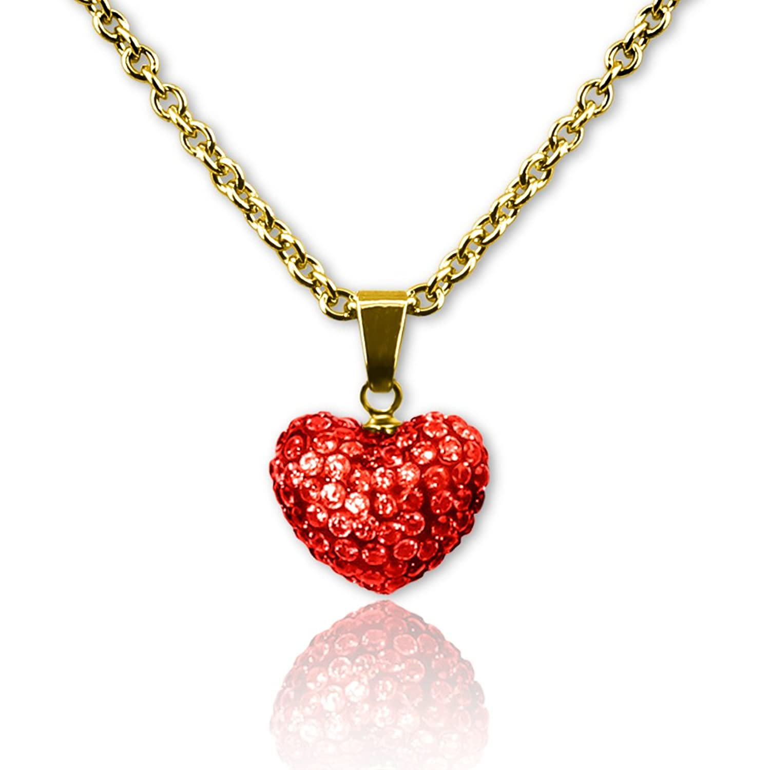 Amazon Kids Necklace Jewelry Pendant Love Dangle Necklace