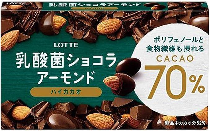 「乳酸菌ショコラ アーモンドチョコレートカカオ70」の画像検索結果