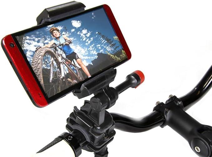 Bicicleta manillar soporte para Samsung Galaxy para vídeo, GPS y ...