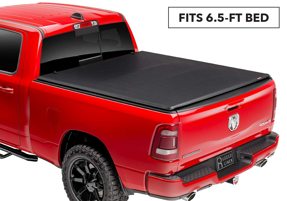 Rugged Liner FCD65945 Tonneau Cover for Dodge Ram Pickup (6.5 foot bed)