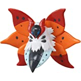 Takaratomy Pokemon Black and White M Figure - Ulgamoth/Volcarona