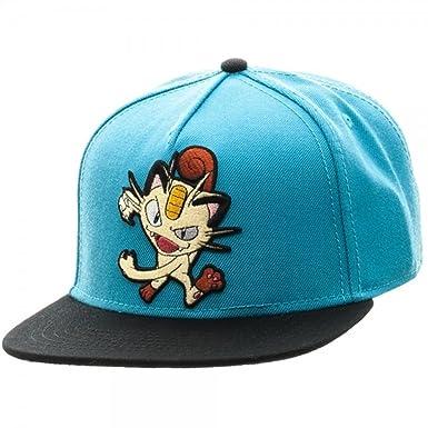 Pokémon Pokemon Personajes Flat Bill Snapback Gorra de béisbol ...