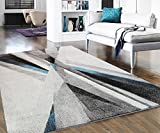 Home Culture Jazelle Modern Collection Area Rug, Lines For Sale