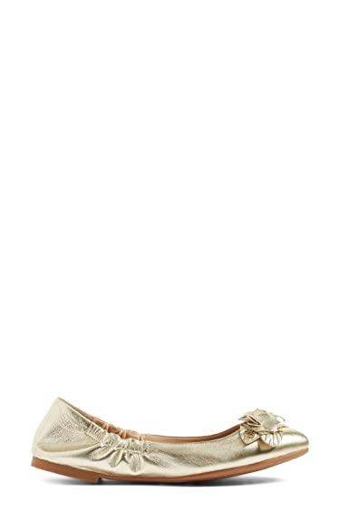 435cafc681c5 Image Unavailable. Image not available for. Color  Tory Burch Blossom  Ballet Flat ...