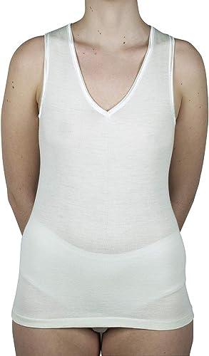 Velan 60203 - Camiseta de Tirantes Ropa Interior para Mujer Algodón Hilo de Escocia Tirantes Anchos: Amazon.es: Ropa y accesorios