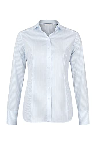 ETERNA long sleeve Blouse SLIM FIT striped
