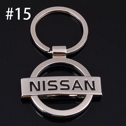 Onbio - Llavero de metal con logotipo de coche 21 estilos ...