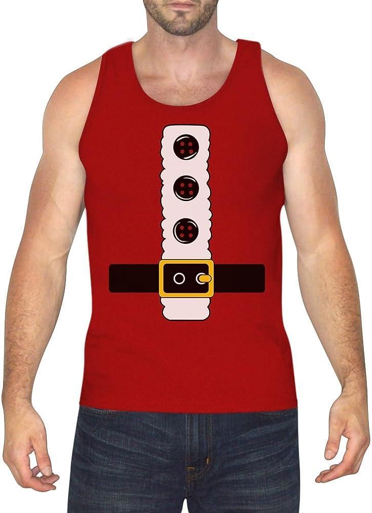 Funny Novelty Vest Singlet Top Santa Costume