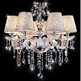 Crystal Chandelier,TOPMAX 6 Fl - Ceiling Light Fixture ,Chandelier Lighting