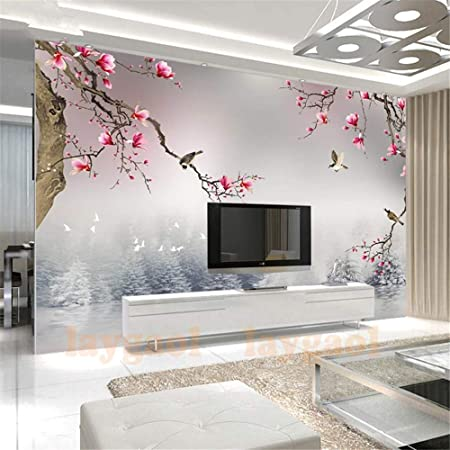 Lanyu Wallpaper Living Room 3d Wallpaper Landscape Home Decoration