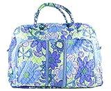 Vera Bradley Doodle Daisy Weekender Zip Duffle Bag, Bags Central