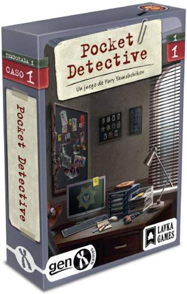 Gen x games Pocket Detective - Temporada 1 - Caso 1: Amazon.es: Juguetes y juegos
