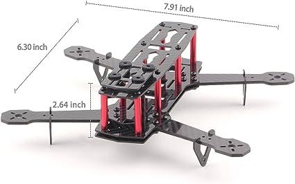 [DIAGRAM_0HG]  Amazon.com: YKS DIY Full Carbon Fiber Mini C250 Quadcopter Frame Kit for  FPV Mini Quadcopter Part: Toys & Games   Zmr 250 Wiring Harness Diy      Amazon.com