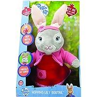Peter Rabbit - Talking & Hopping LilyInteractive Toy,36 x 15 x 11cm