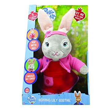 and Rabbit Hopping Talking Peter Po1450 Cbeebies Lily Bobtail FK1TlJc