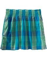 Aeropostale Womens Plaid Pleated Skirt