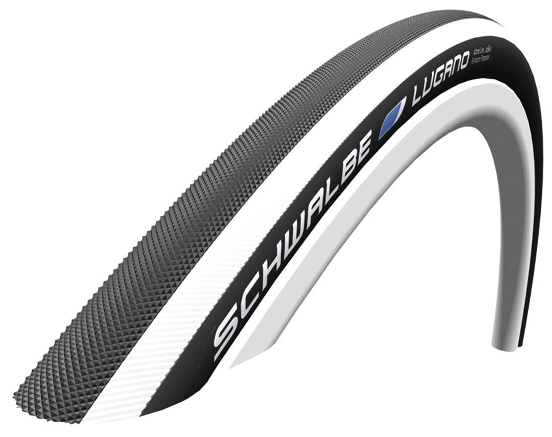 Schwalbe Lugano Black 700 X 23c Kevlar Active Line Road Bike Tyres Pro One 25 C Inner Tubes 2016 Model