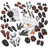 Nasco S08596 Life/form Introduction to Tracks and Tracking, Volume 1, 67 Piece Replica Set