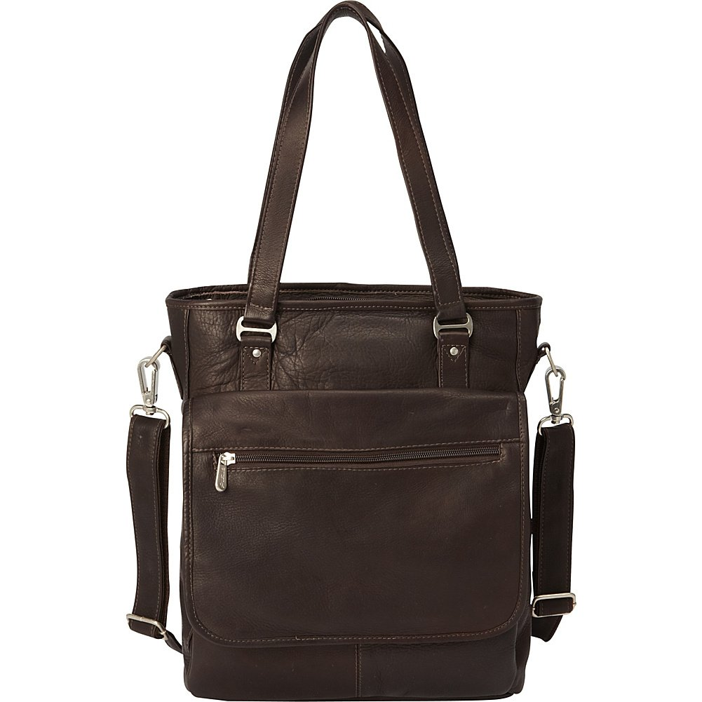 Saddle 3011 Piel Leather Laptop//Tablet Carry-All Tote