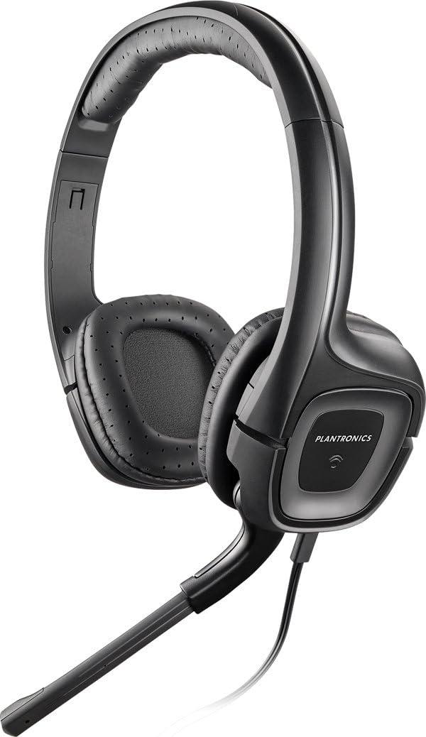 Plantronics AUDIO355 - Auriculares de diadema cerrados con micrófono