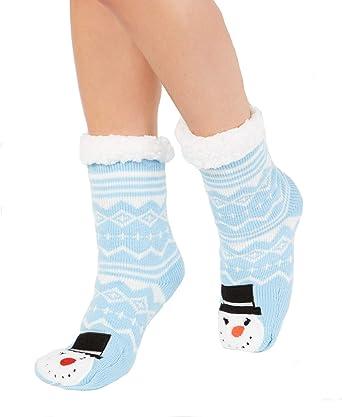 Hot Sox Women/'s Snowmen Socks