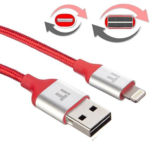 19 opinioni per InfoTechnica [ Apple MFi certificato] Cavo Lightning a USB in nylon intrecciato