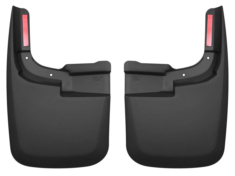 1 Pack Husky Liners 13311 BlackFront Floor Liners Fits 2017 F250//350 Standard Cab