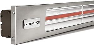 Infratech Slimline Series 63 1/2-inch 4000w Single Element Electric Infrared Patio Heater - 240v - Bronze - Sl4024b