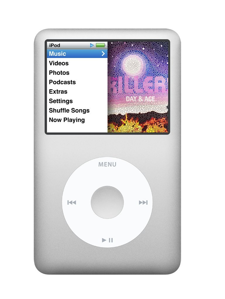 Amazon.com: Apple iPod Classic 160 GB Silver (7th Generation): Home Audio &  Theater