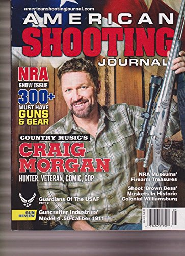 AMERICAN SHOOTING JOURNAL MAGAZINE MAY 2016, NRA SHOW ISSUE 300+ MUST HAVE GUNS