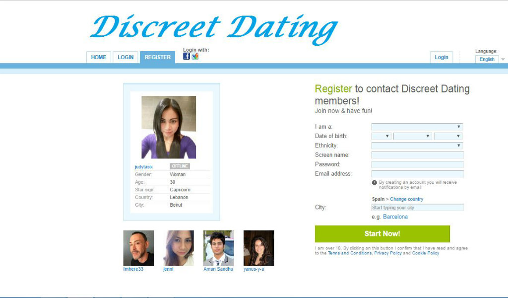 Discreet dating services