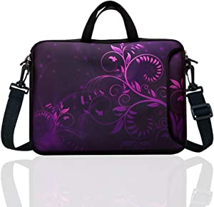 11.6-Inch to 12.5-Inch Neoprene Laptop Shoulder Messenger Bag Case Sleeve for 11 11.6 12 12.2 12.5