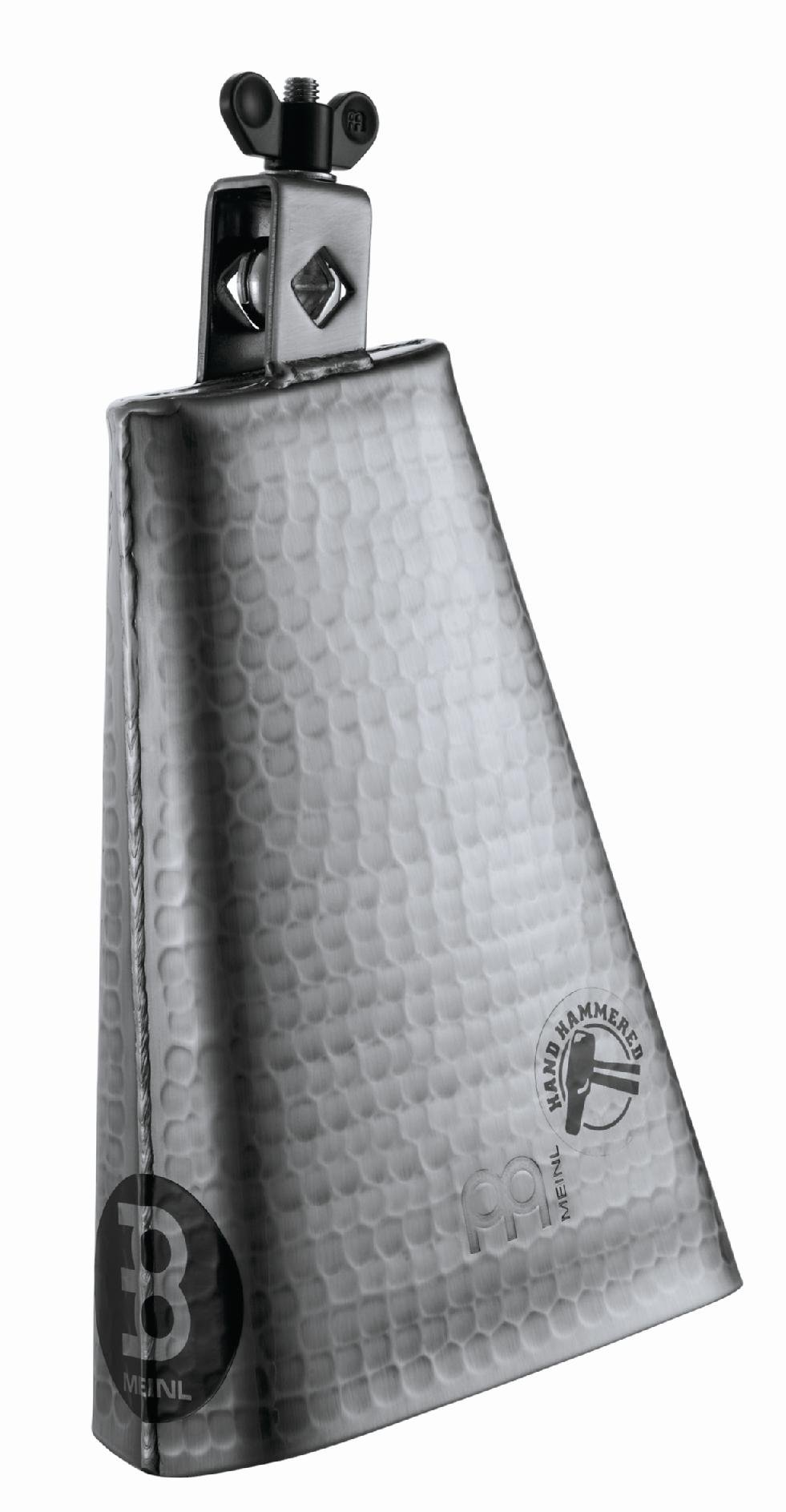 Meinl Percussion STB80BHH-S 8-Inch Big Mouth Hand Hammered Steel Cowbell by Meinl Percussion