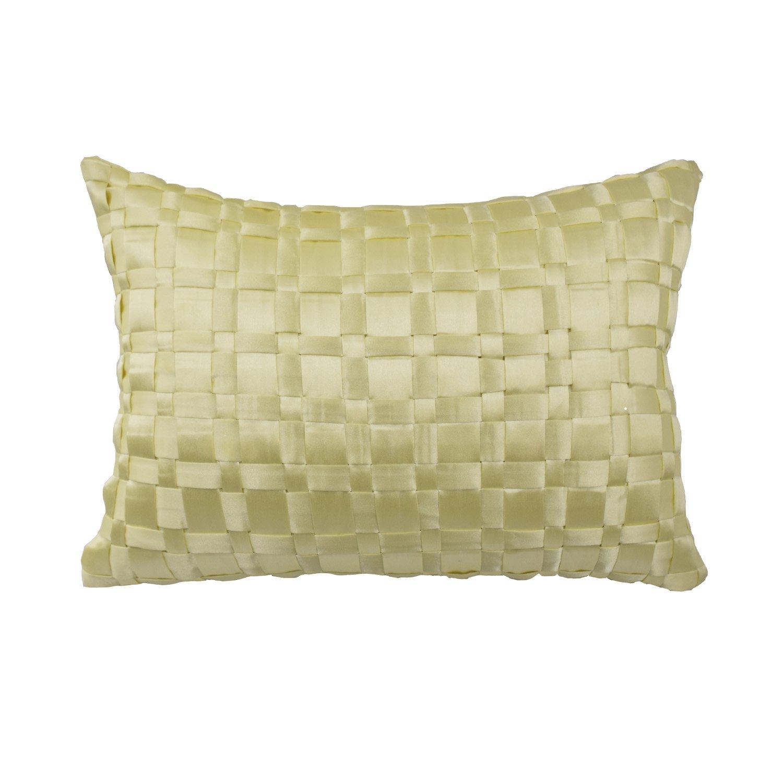 WAVERLY Floral Engagement Decorative Pillow, 12 x 18, Porcelain