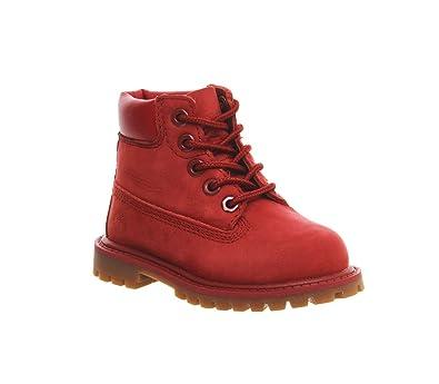 timberland rouge enfant