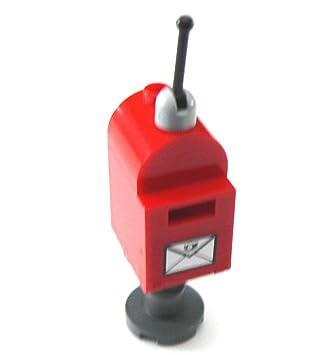 Lego Briefkasten Postkasten Briefkästen Englisch Mit Fuß