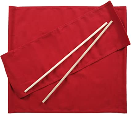 ArredaSì Ricambi per Sedia Regista [Set di 2] Cotone Rosso