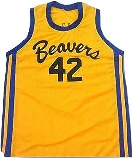 1bbfc693361f borizcustoms Teen Wolf Scott Howard 42 Beacon Beavers Basketball Jersey  Stitch