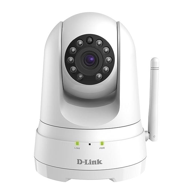 111 opinioni per D-Link DCS-8525LH Telecamera di Sorveglianza Full HD, Wi-Fi N, Audio a Due Vie,