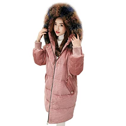 TSINY G moda mujer Slim regla Down chaqueta invierno cálido ...
